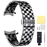 Replacement Stainless Steel Watch Band Black Quick Release Strap 12,14,16,18,19,20,21,22,24MM