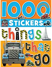 1000 Stickers - Things That Go