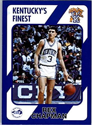 1989-90 Kentucky Collegiate Collection #12 Rex Chapman - NM-MT
