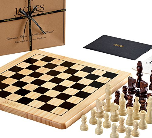 Jaques of London Chess Set Complete with Pieces - Quality Chess Board and...