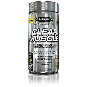 MuscleTech Clear Muscle, Muscle, Strength Builder and Recovery, Amino Acid 168 Count