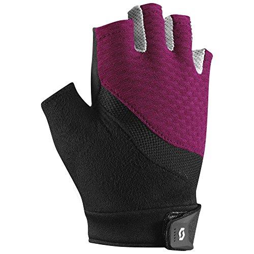 Scott Essential SF Glove - Women's Black/Plum Violet, M (Gloves Nylon Scott)