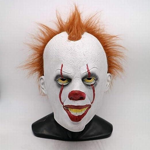 wnddm Disfraz de Payasos Disfraz de Halloween de Miedo para Mujer ...