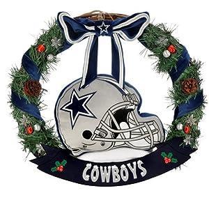 """FOCO NFL Unisex 20"""" Helmet Door Wreath 74"""