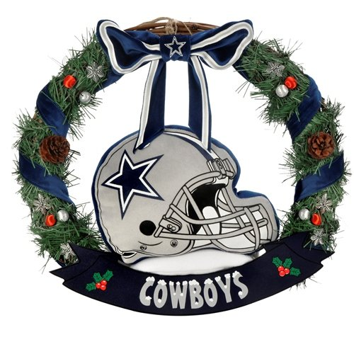 dallas cowboys wreath