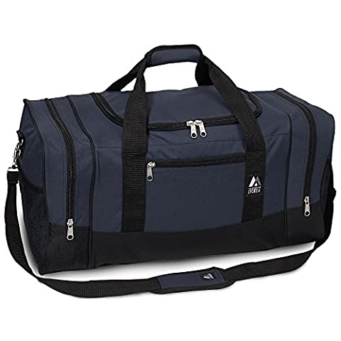 Everest Luggage Sporty Gear Bag - Large NAVY - Sporty Travel Tote