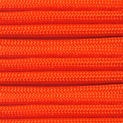 (Paracord Planet 750 LB Type IV Paracord Authentic Parachute Cord. 11 Core Inner Strands Minimum Break Strength of 750 lb. Available in 10, 25, 50, 100 Foot Hanks and 250 & 1000 Foot Spools)
