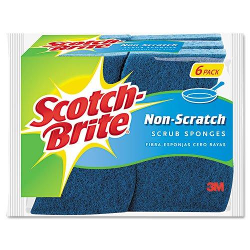 Scotch-Brite 6 Piece Multi Purpose Scrub Sponge Pack ( Pack of 1 ) ()