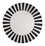 OSP Designs The Jazz Note Round Wall Decor with Glass, Mirror/Black Review