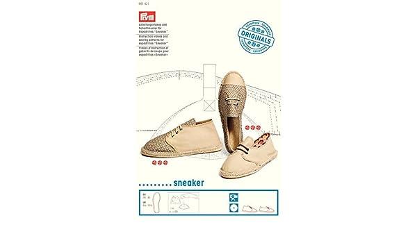 Amazon Prym Sewing Pattern Dvd For Espadrilles Sneaker Each