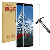 Galaxy S8 Plus Screen Protector,Solocil Full Coverage Anti-Scratch ,No Lifted Edges,Crystal Clear Tempered Glass Screen Protector for Samsung Galaxy S8 Plus
