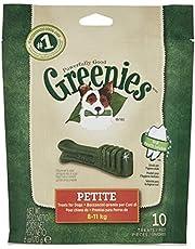 Greenies Petite Snack per la Igiene Orale, per Cani di 8-11 kg - 6 buste da 170 g (10 snack x bustina)