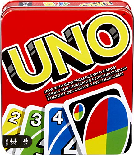 (Mattel Games: The Official Uno Tin [Amazon Exclusive])