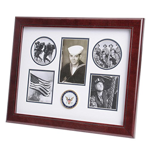 (US Flag Store U.S. Navy Medallion 5 Picture Collage)