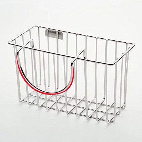 Kitchen Storage Rack Holder Sink Drainer Shelf Soap Sponge Dishcloth Organizer by Agordo