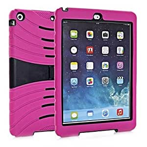 NEW Big Dragonfly ArmorBox Series 2 Layer Protection Case with Kick Stand for iPad Air , 2