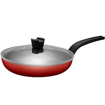 Freidora Pan Wok Antiadherente Pan Steak Pan Freidora Profunda - Aleación De Aluminio, Combustible Eficiente