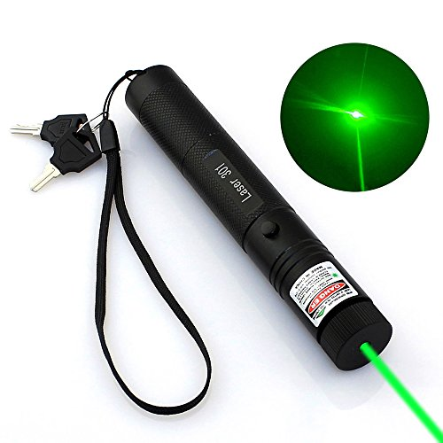 Single point green 301 laser hand power