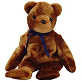 TY Beanie Baby - TED-e the Old Face Brown Bear (Internet Exclusive) (8.5 inch) PRS