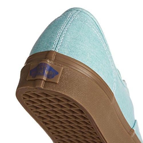 Authentic da Basse Ginnastica Radiance Gum Vans Blue Scarpe Uomo UA fqx656