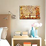 Wieco Art Tree of Life Modern Gallery Wrapped