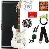 Fender Player Stratocaster Pau Ferro Bundle with