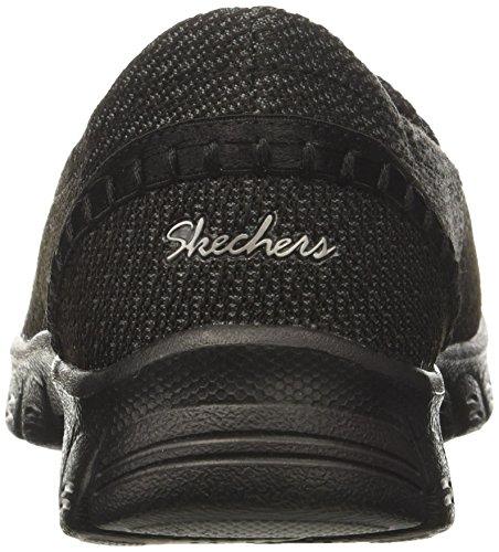 Skechers Damen EZ Flex 3.0 Geschlossene Ballerinas Schwarz (Black)