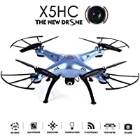 Flymemo X5HC 2.0MP HD Camera RC Quadcopter with 360° Eversion Headless Mode High Hold Mode Function 2.4GHz 4CH 6 Axis Gyro Drone