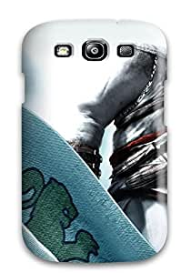 Galaxy Cover Case - A Rogue With Knives Protective Case Compatibel With Galaxy S3
