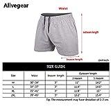 JEEING GEAR Men's Bodybuilding Workout Gym Shorts