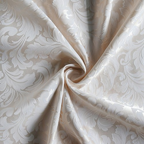 Colorbird Scroll Damask Jacquard Tablecloth Spillproof