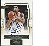 Basketball NBA 2009 10 Panini Classics #170 Gerald Henderson #170 NM Near Mint RC Rookie Auto 450/49