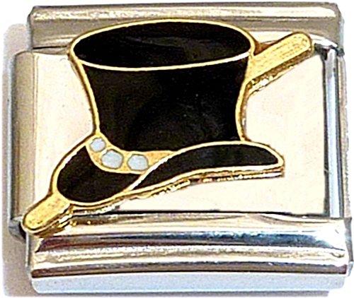 Top Hat Italian Charm
