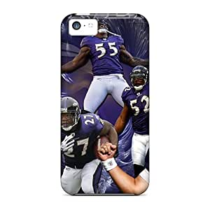 linJUN FENGAwesome Baltimore Ravens Flip Cases With Fashion Design For iphone 6 4.7 inch