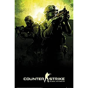 Counter Strike Team Maxi Poster 61x91.5cm