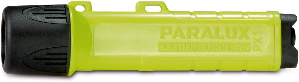 Sicherheitslampe Paralux Parat THW Ex-Schutz Helmlampe PX 1 LED