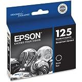 Epson DURABrite T125120 Ultra 125 Standard-capacity Inkjet Cartridge -Black