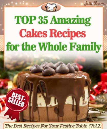 Amazing Cakes Recipes Family Festive ebook product image
