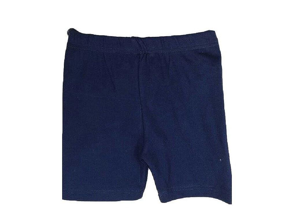 RoMaAns IDeal Fashion Girls Unisex Cotton Soft Fabric Elasticated Shorts Kids PE Schoot Football Boys 9-10 Years, Navy