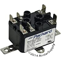 Nordyne - 90-380 Replacement Heavy Duty Switching Fan Relay SPST 1-NO , 1-NC 24 V Coil by Packard