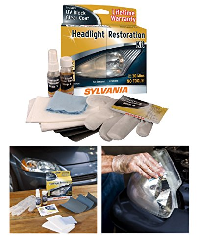 Sylvania Treatments Headlight Restoration Kit 38771