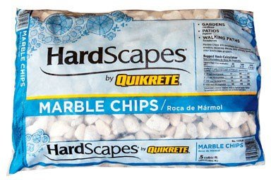 - Marble Chips White .5cf