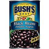BUSH'S BEST Black Beans, Canned Beans, Prime Pantry, 39 oz.