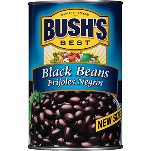 Bush's Best Black Beans, 39 oz (6 cans)