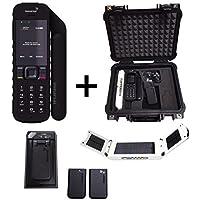 SatPhoneStore Inmarsat IsatPhone 2 Satellite Phone Emergency Responder Package w/ Solar Panel