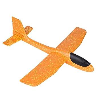 3eb15796c20a0f 紙飛行機 グライダー モデル 手投げ 回転飛行 泡製 発泡素材 投げる グライダー 飛行機 慣性