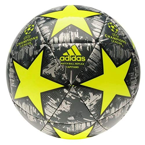 adidas Champions League Finale Capitano Black/Yellow - Size 5