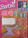 BARBIE HOSTESS Play SET w TEA CART & Trays, TEA POT, Cups, UTENSILS & More! (1988 Arco Toys, Mattel)