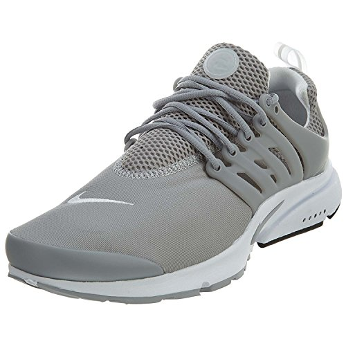 nike air presto essential mens running trainers 848187 sneakers shoes (uk 11 us 12 eu 46, wolf grey white 013)