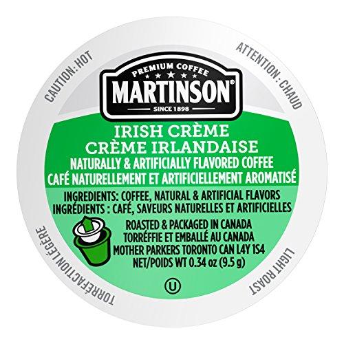 Carolans Irish Cream - Martinson Single Serve Coffee Capsules, Irish Creme, 24 Count